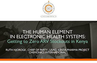 PowerPoint on Getting to Zero ARV Stockouts in Kenya