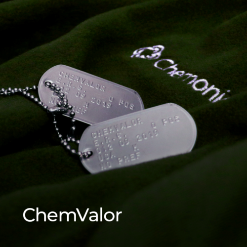 ChemValor strives to create a workplace that welcomes, hires, retains, and values military veterans and their families, and builds staff capacity to recognize the value of military talent globally.
