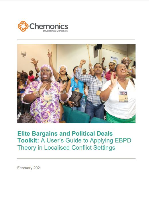 Elite Bargains and Political Deals cover page