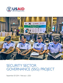 Thumbnail of the Security Sector Governance Project's final report