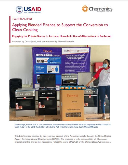 Applying Blended Finance cover page thumbnail