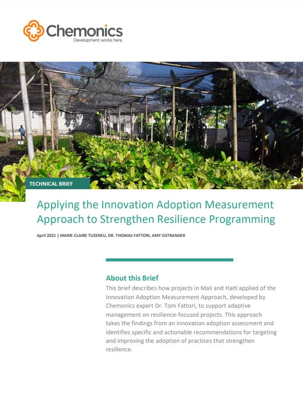 Applying the Innovation Adoption Measurement Approach thumbnail